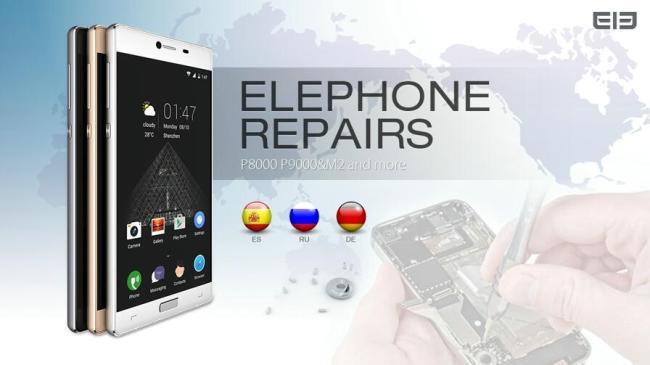 elephone repairs
