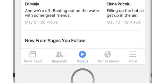 facebook video feed