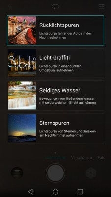 huawei mate s cam ui light