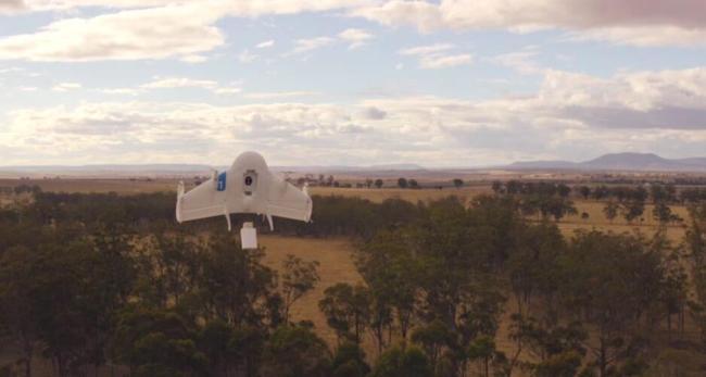 Google Drohne Projekt Wing