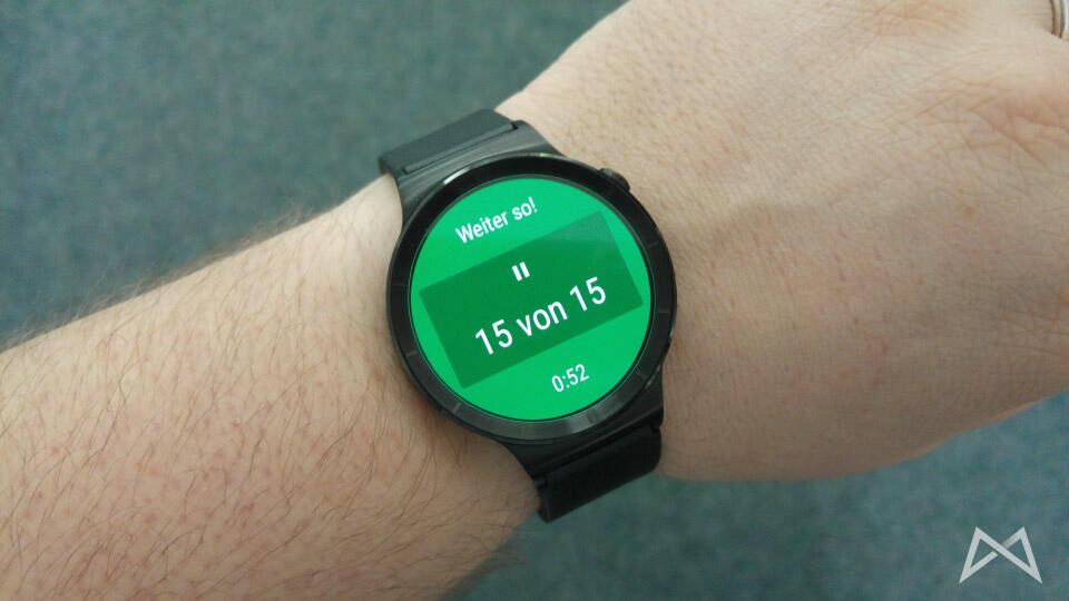Google Fit Huawei Watch