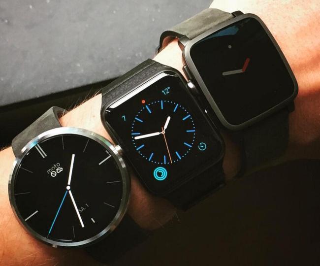 Smartwatch Wearable Apple Watch Pebble Android Wear Header