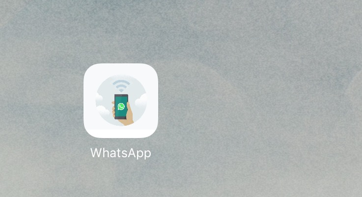 WhatsApp iPad Icon