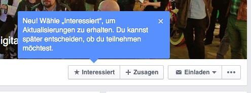 facebook events interessiert