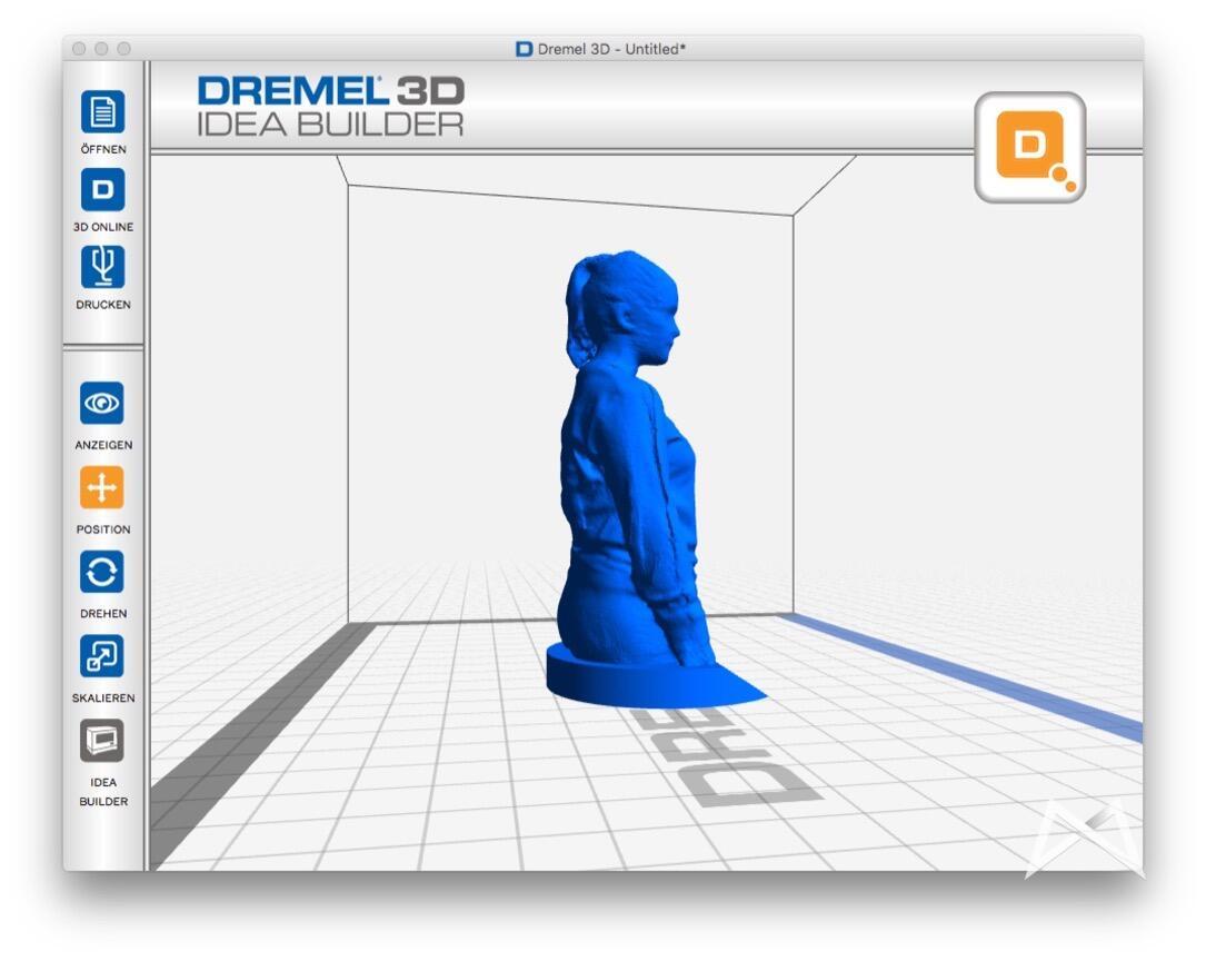 Microsoft Xbox Kinect Dremel 3D Drucker Scanner