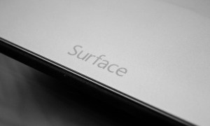 Microsoft Surface Logo Header