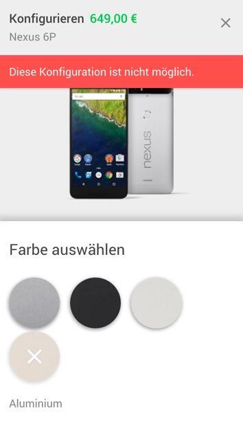 Nexus 6P Gold DE Store