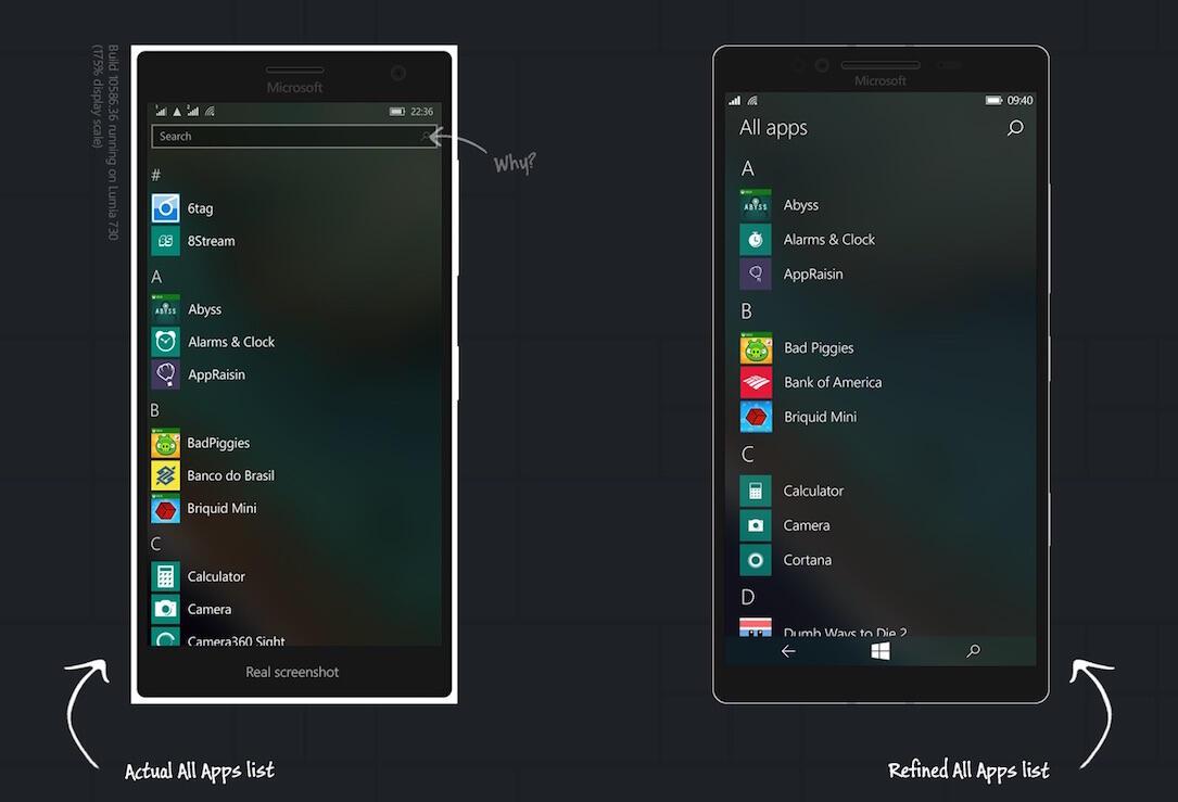 Windows 10 Mobile Konzept2