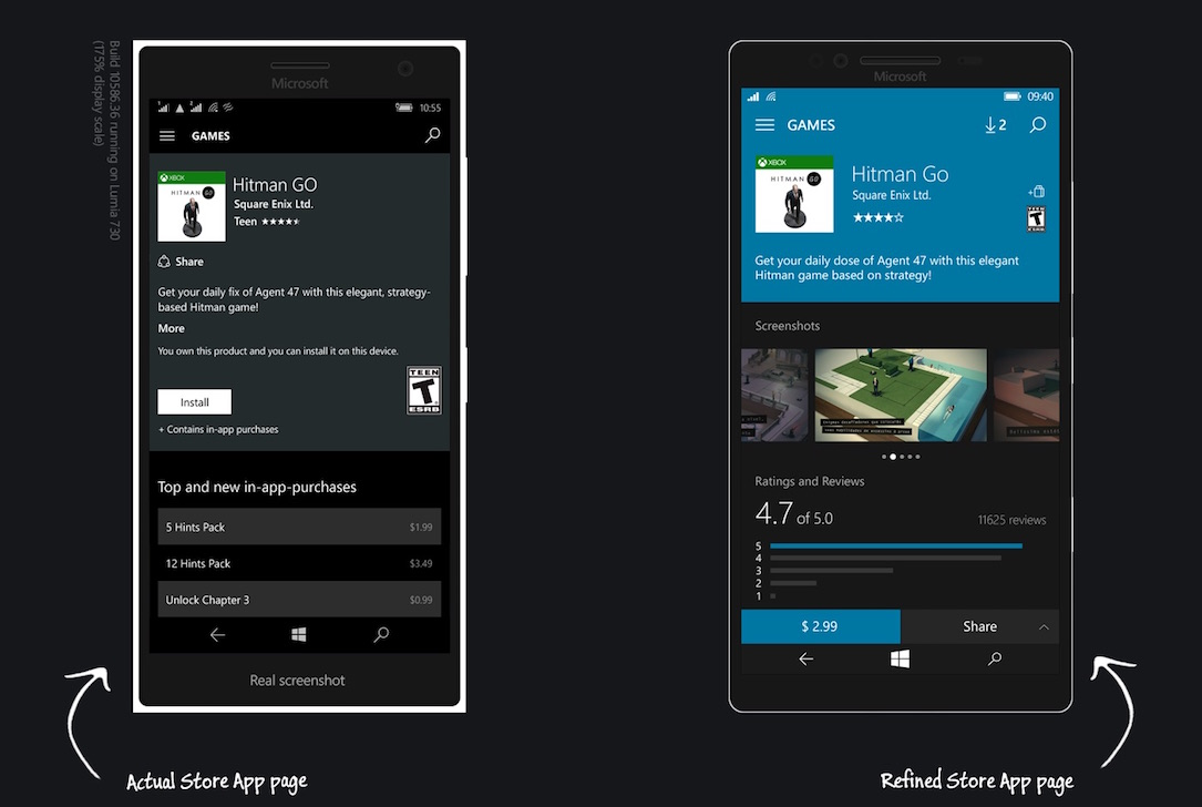 Windows 10 Mobile Konzept3