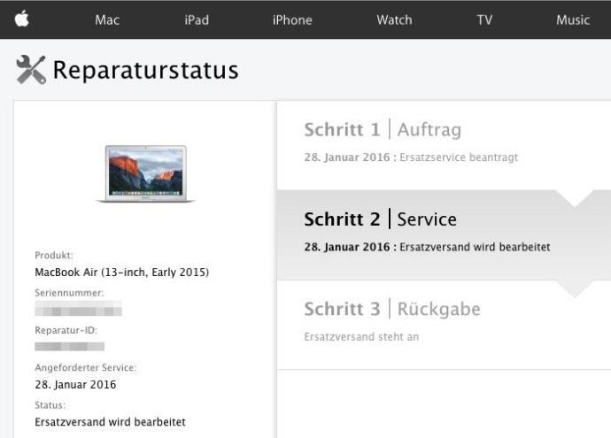 macbook air netzstecker austausch