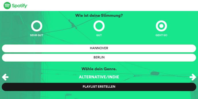 spotify playlister