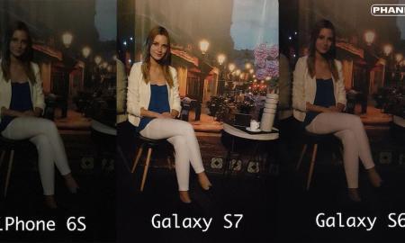 Galaxy S7 Kameravergleich