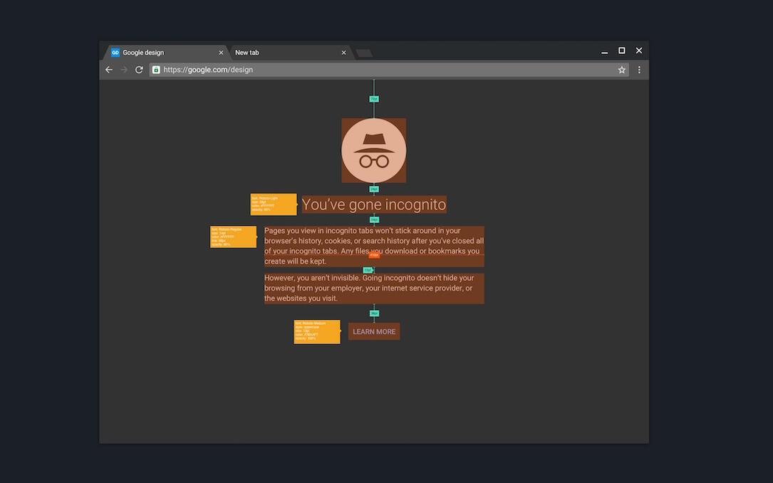 Google Chrome Material Design Vorschau3