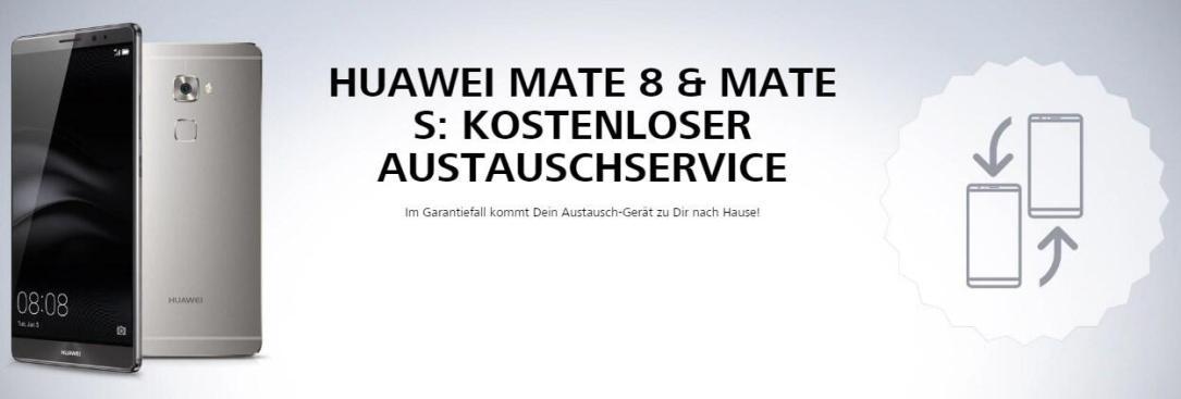 Huawei Mate 8 Austauschservice