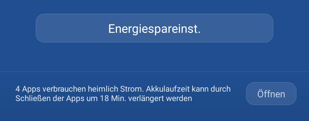 Huawei Mate 8 Energeispareinstellungen