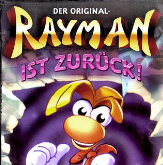 Rayman Original Cover Header