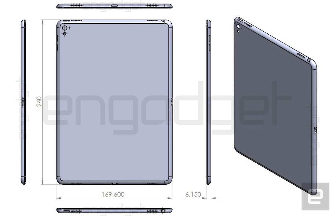 iPad Air 3 Mockup