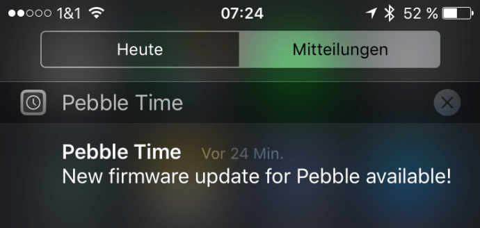 pebble time firmware