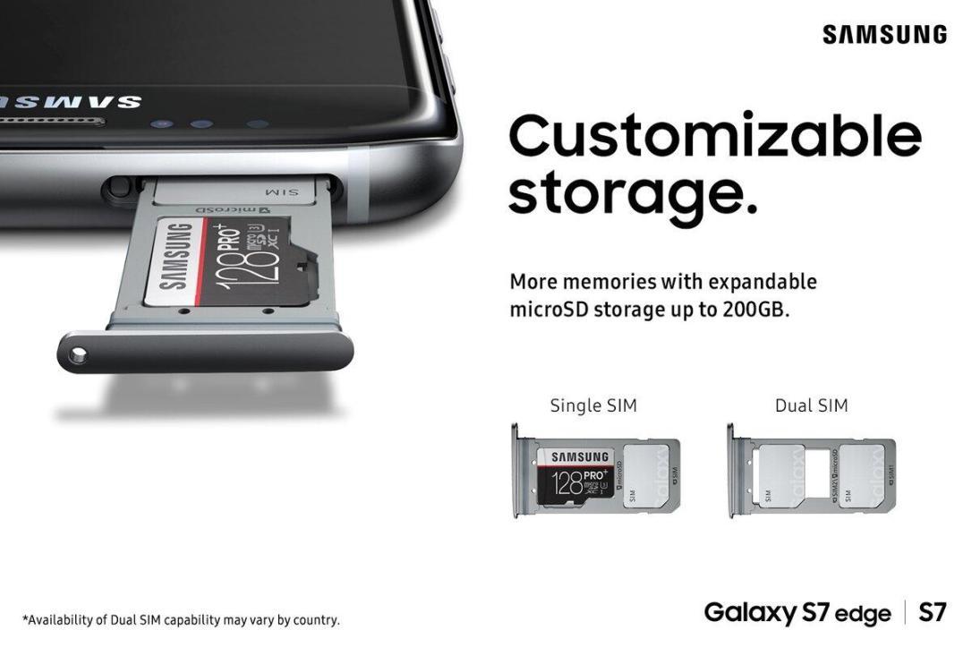 sim karte galaxy s7 Samsung Galaxy S7 (edge): Dual SIM nicht für Deutschland