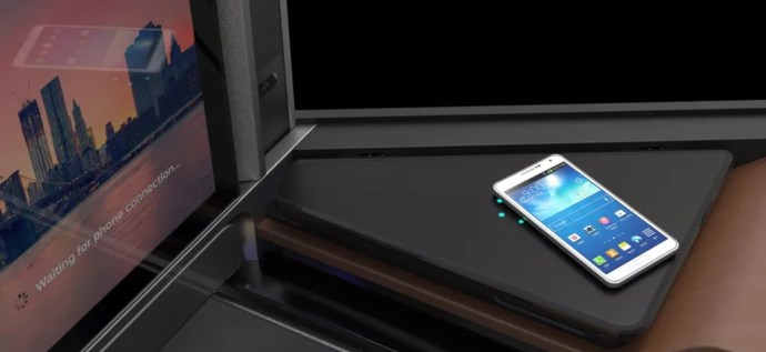 Wireless Charging mit Panasonic Waterfront