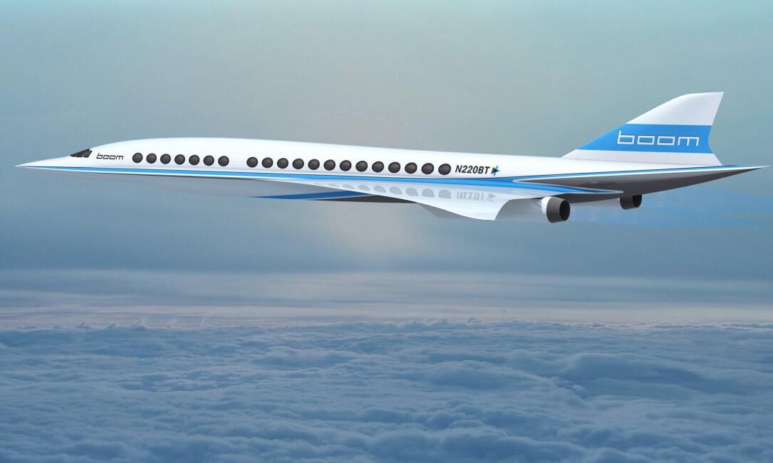 Concorde reloaded: Boom Technologies entwickelt Überschallflugzeug
