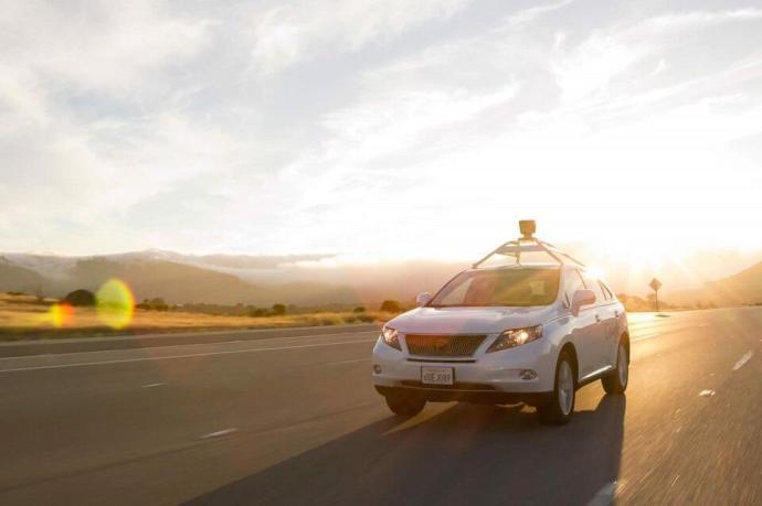 Google self driving car - lexus