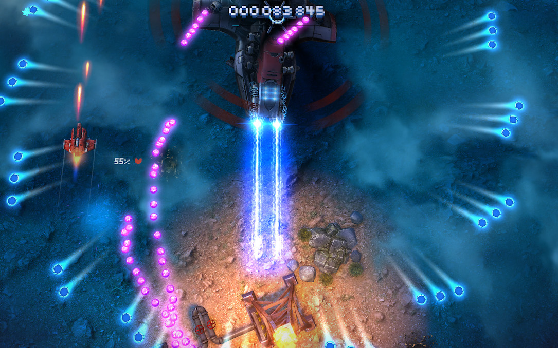 Sky Force Reloaded Remake Screens1