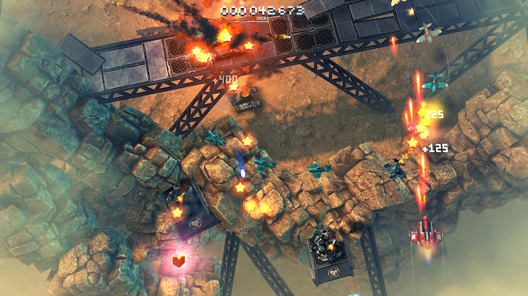 Sky Force Reloaded Remake Screens4