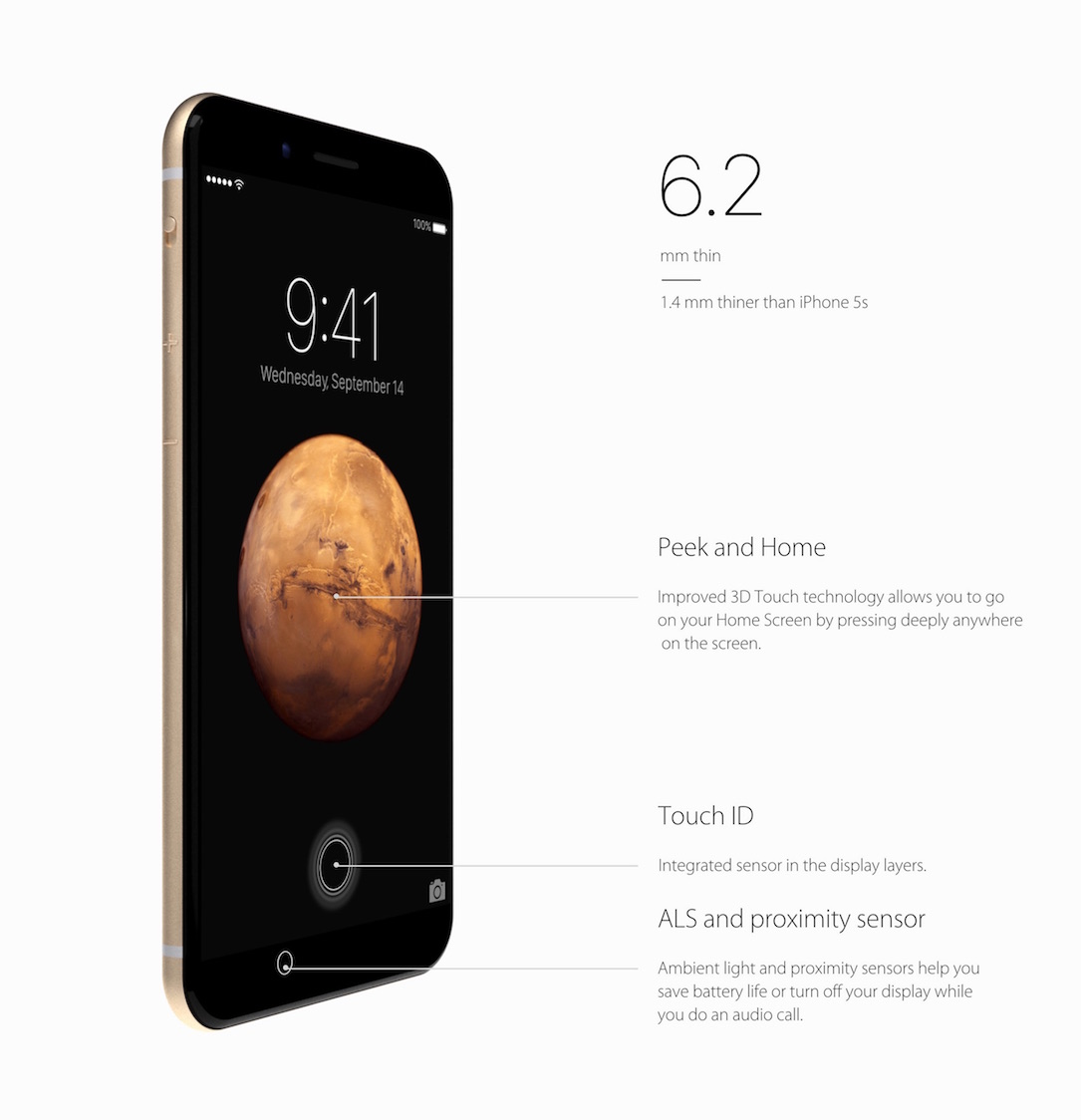 iPhone 7 Konzept Specs