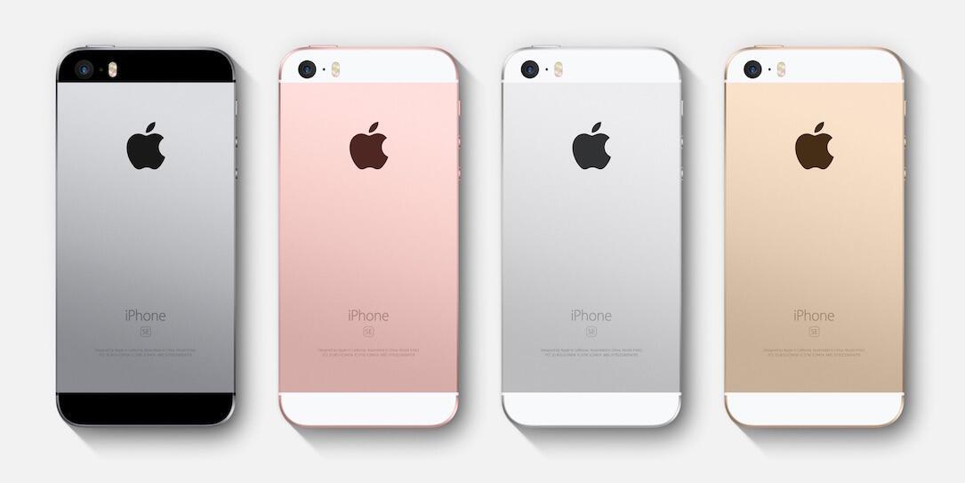 iPhone SE Farben Header
