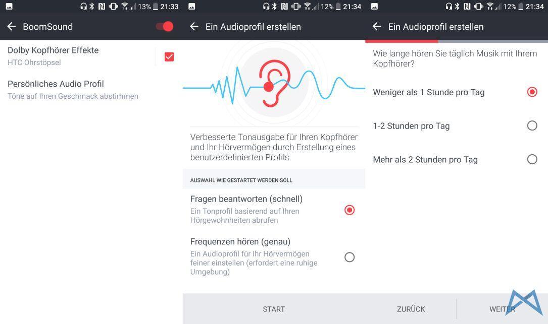 HTC 10 BoomSound Dolby Kopfhoerer1
