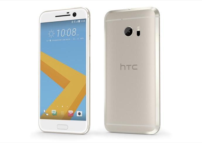 HTC 10 in Topaz Gold