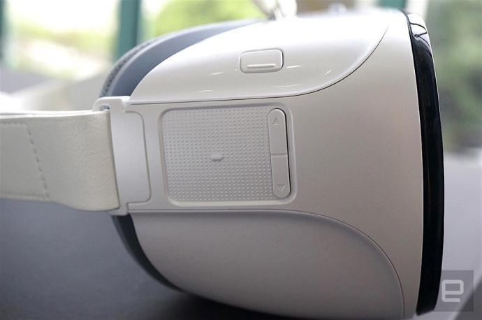 Das Touchpad der Huawei VR