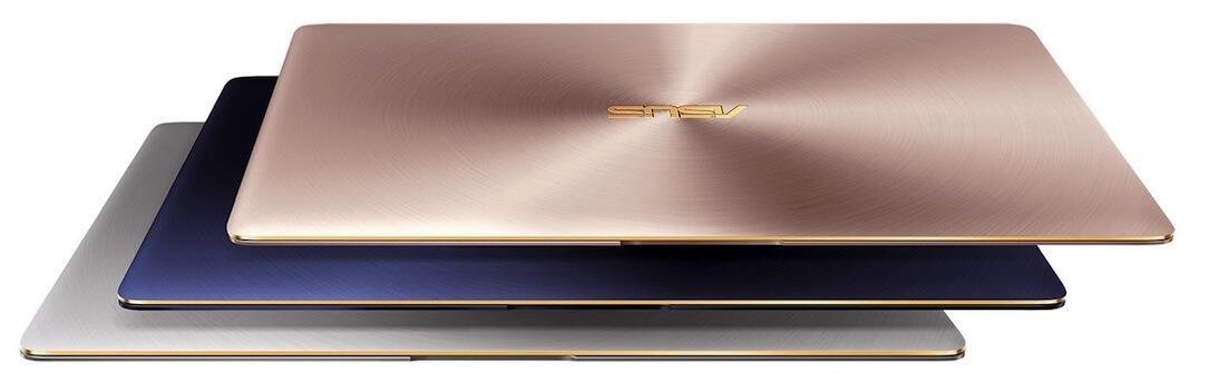 Asus ZenBook 3 Farben