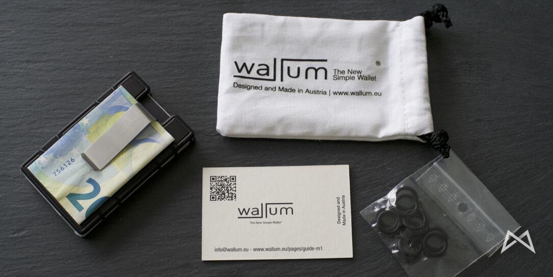 M1 Wallet Lieferumfang
