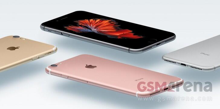 iPhone 7 Render Alle