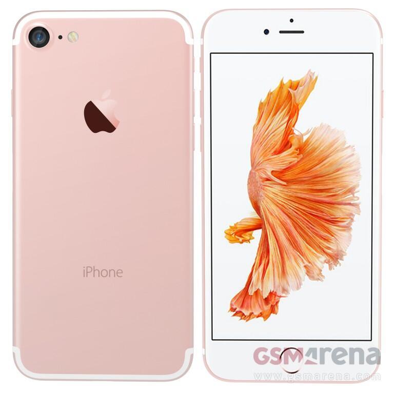 iPhone 7 Render Pink
