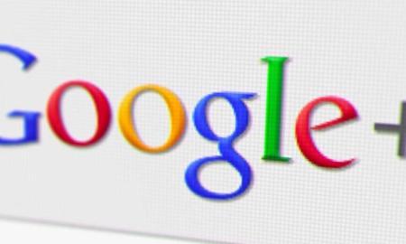 Google Plus Retro Logo Header