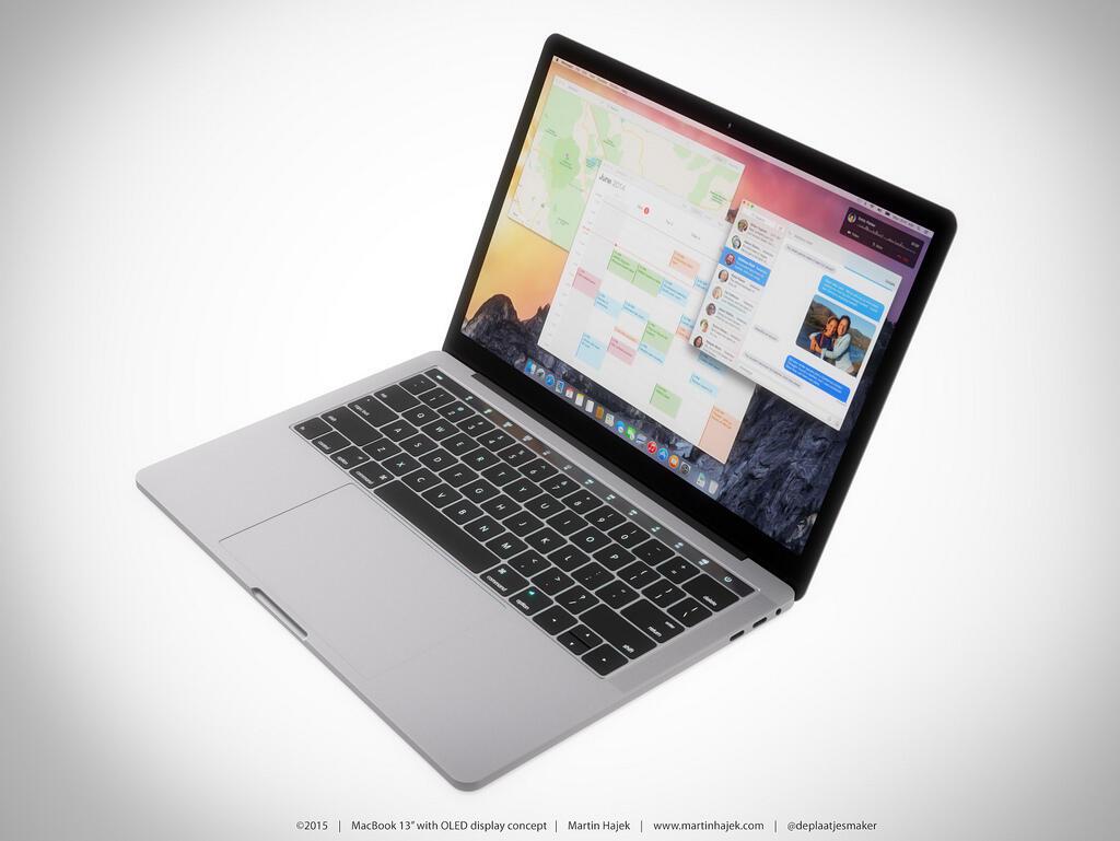 MacBook OLED Leiste Konzept2