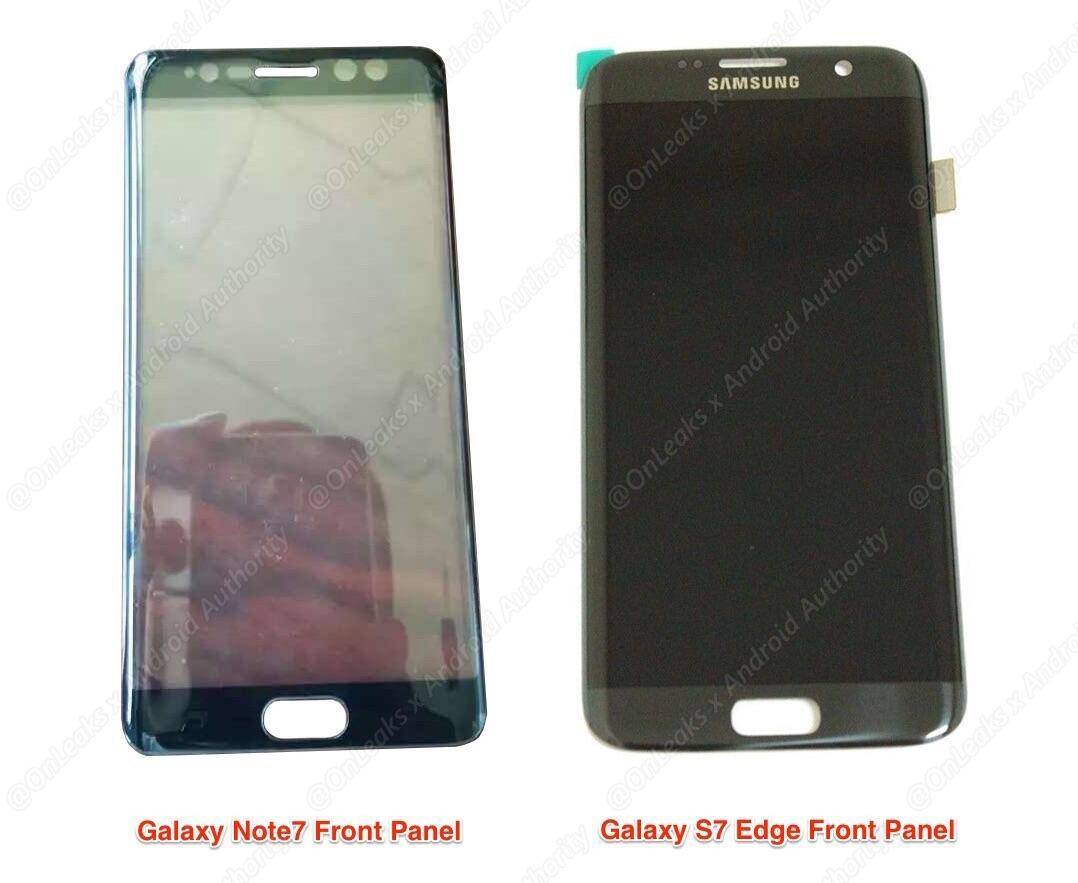 Note 7 vs Galaxy S7 Edge
