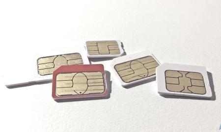 SIM Karten Header