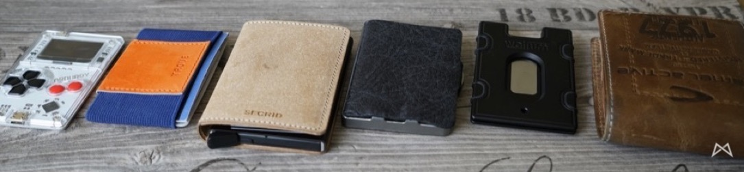 iclip secrid wallum wallets