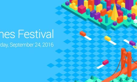 Google Indie Games Festival Header