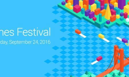 Google Indie Games Festival Header