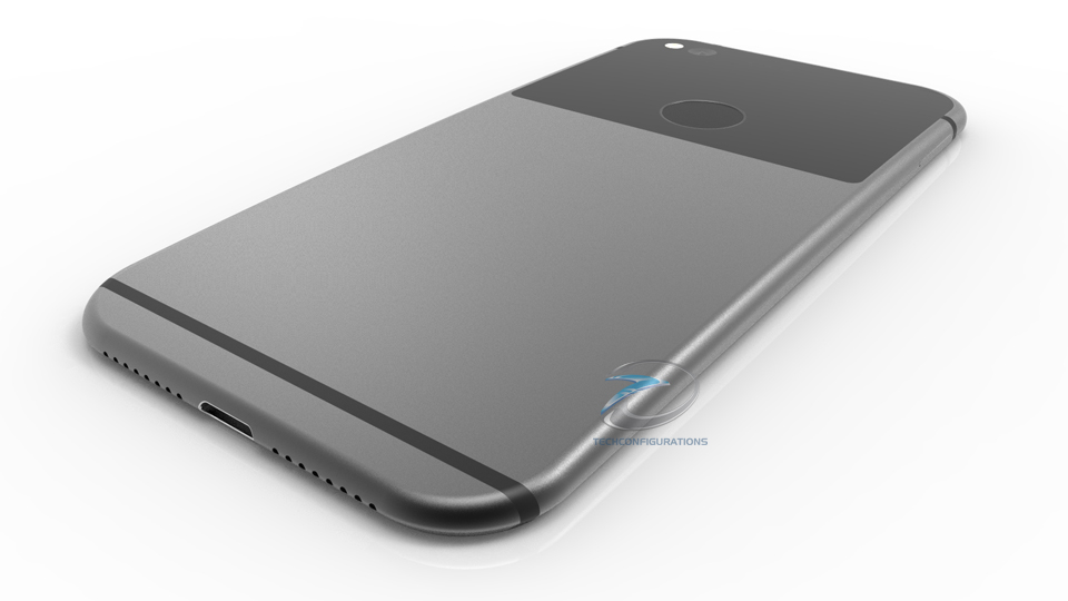 HTC Nexus Konzept Back