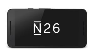N26 Logo auf Smartphone