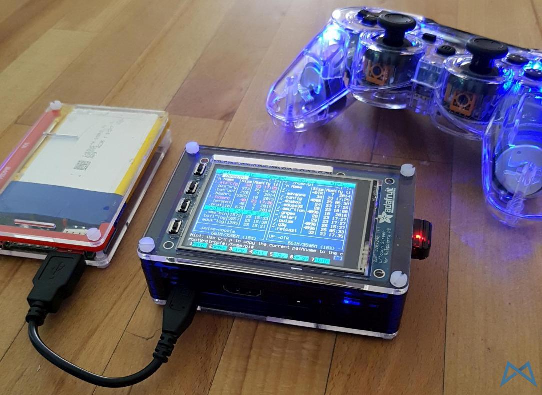 Raspberry Pi 2 Model B mit Pibow Gehaeuse