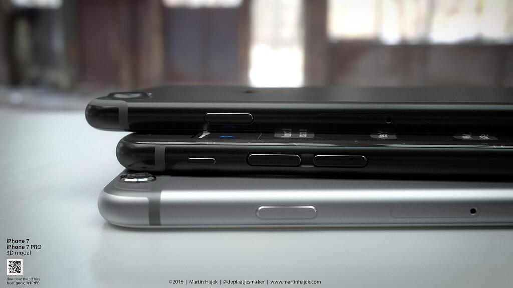 iPhone 7 Schwarz Konzept1