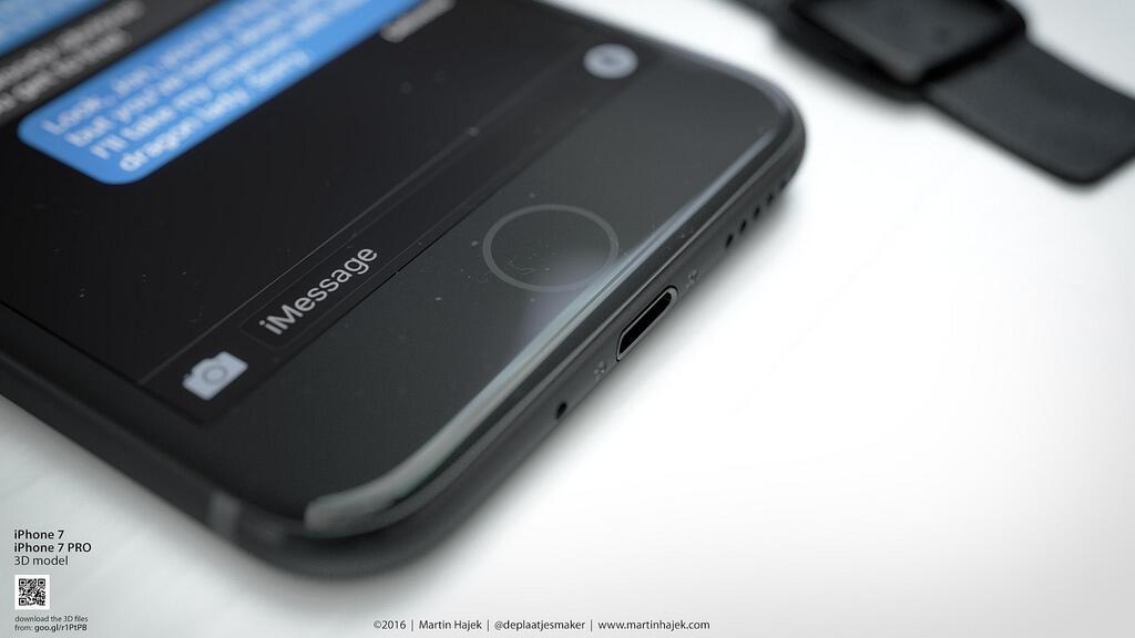 iPhone 7 Schwarz Konzept2