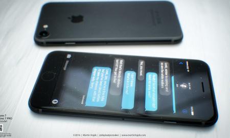 iPhone 7 Schwarz Konzept4